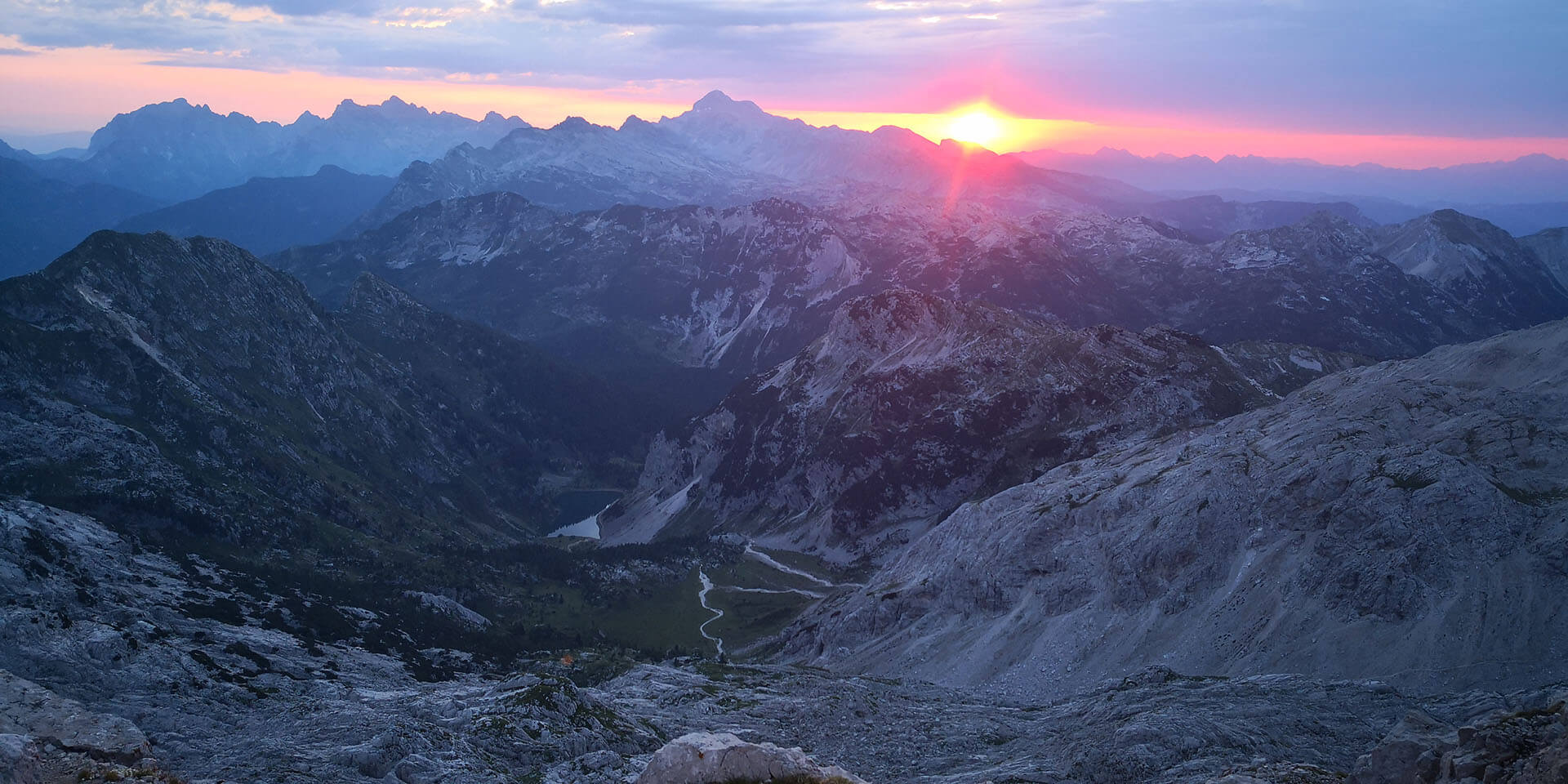 Sunset from Krn (2220m)